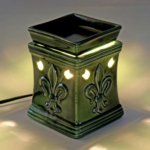 세라믹 아로마 오일 전기 램프 (전구 포함)