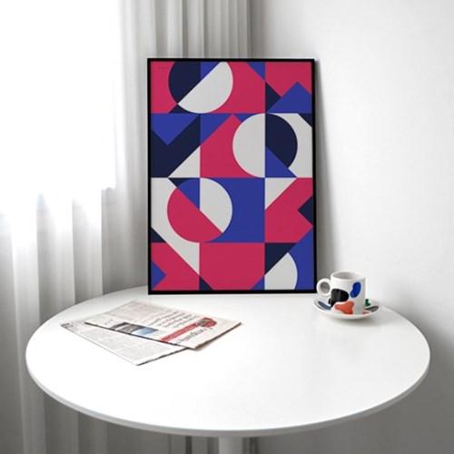 기하학A 메탈 액자/ 포스터 액자 (A3,A2,A1)