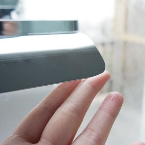 바스템 원터치 흡착 욕실 선반형 휴지걸이