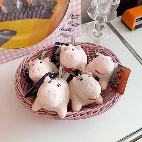 Piggy Bank Plush Keyring 돼지저금통열쇠고리