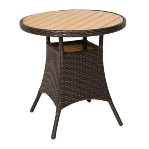 T47 야외 라탄 테이블 카페 티테이블 디자인가구