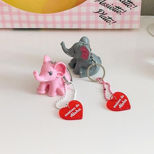 Elephant Keyring 코끼리키링