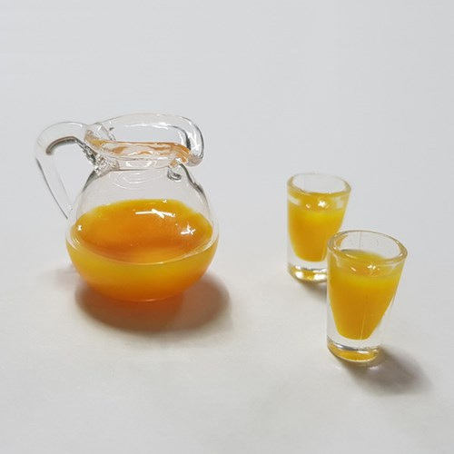 비오스 미니어쳐 모형 음료/잔 세트(2종)