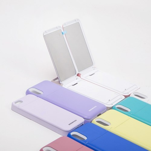 10 colors mirror card