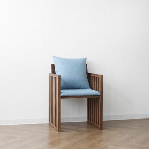 [헤리티지월넛] G1형 의자 스카이블루_(1412861)