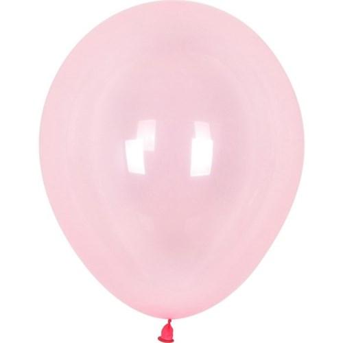 셈퍼텍스 30cm풍선(12인치) 크리스탈 파스텔 핑크 10개