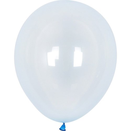 셈퍼텍스 30cm풍선(12인치) 크리스탈 파스텔 블루 10개