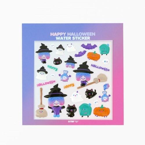 HAPPY HALLOWEEN water sticker