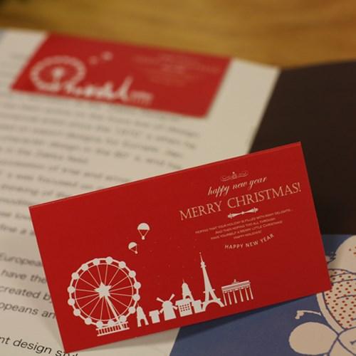 아이씨엘 크리스마스 카드 세트- winter 10세트
