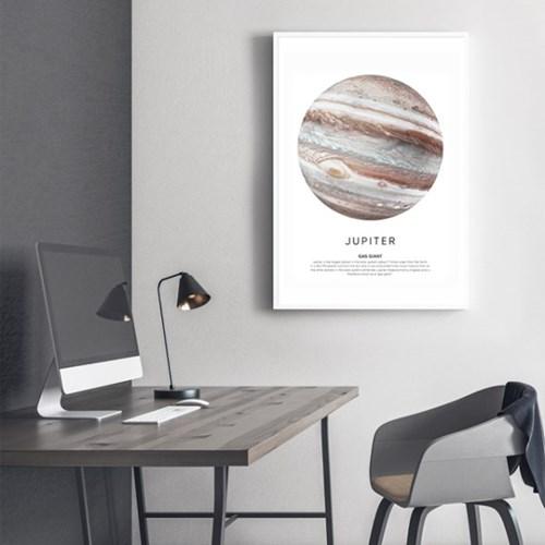 목성 그림 액자 인테리어 포스터