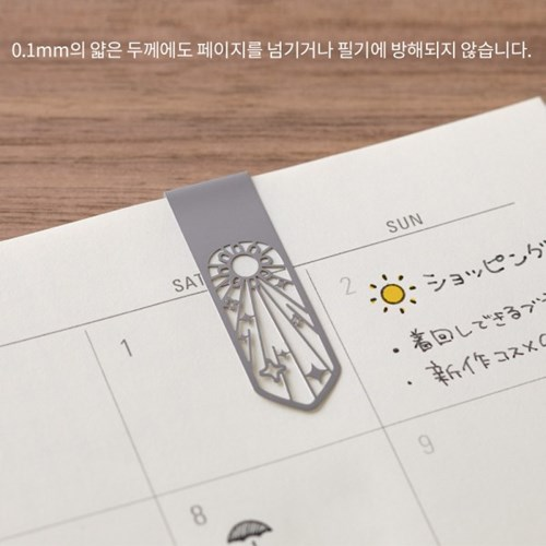 Bookmarker Clip - Flower