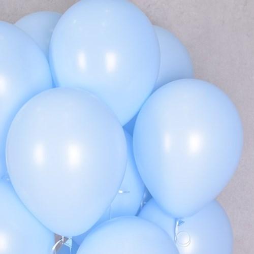 셈퍼텍스 30cm풍선(12인치) 파스텔메이트 블루 50입
