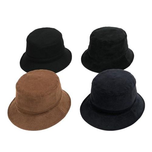 PL CORDUROY BUCKET HAT (navy)