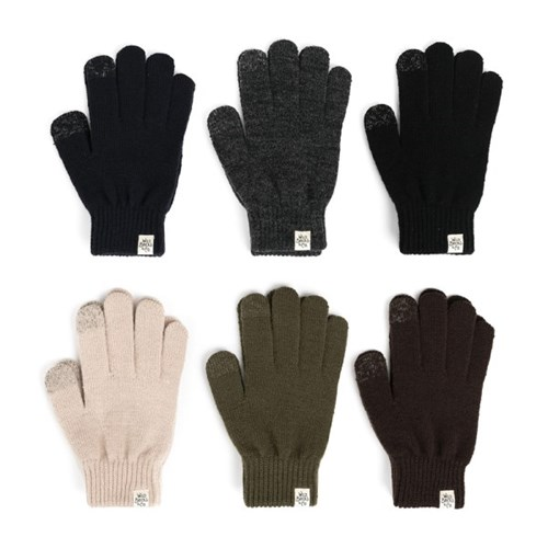 AW BASIC TOUCH GLOVES (khaki)