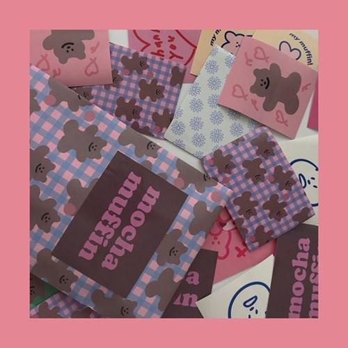 [뮤즈무드] mocha muffin muse mood sticker pack