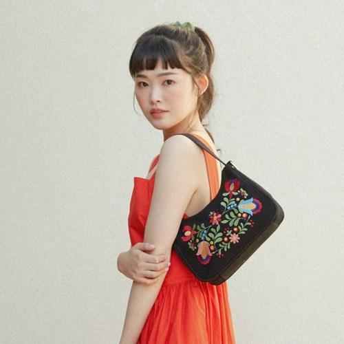 lady hobo bag (black)