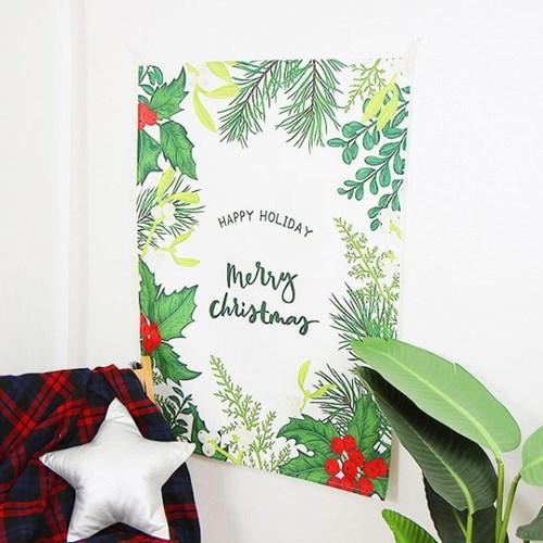 크리스마스 패브릭 포스터 - 2type