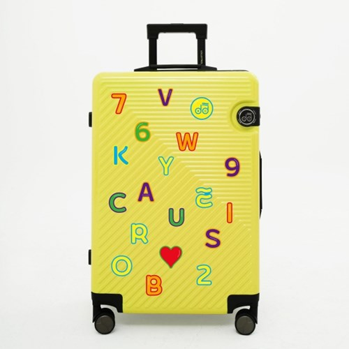 [1+1] 알파벳 숫자 캐리어 스티커