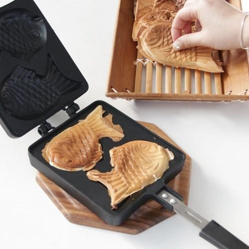 수제 홈베이킹 붕어빵팬 2구 1P