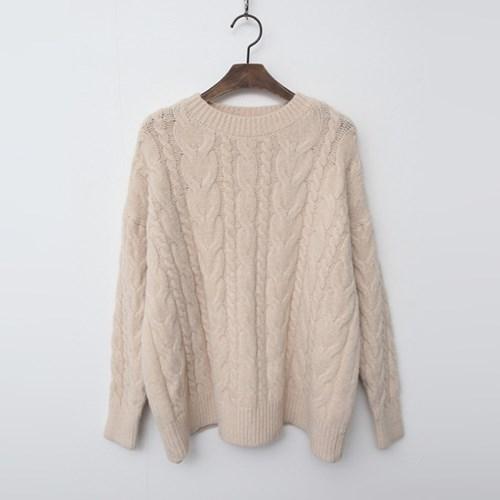 Wool Twisted Sweater