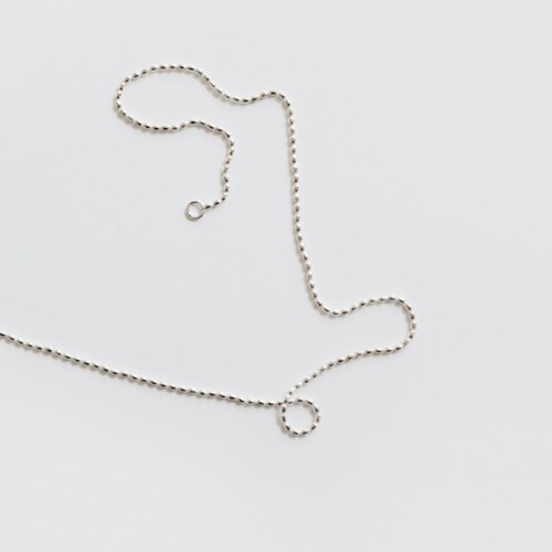(92.5 silver) evening choker necklace