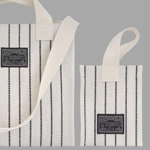 Black Stitch Bag