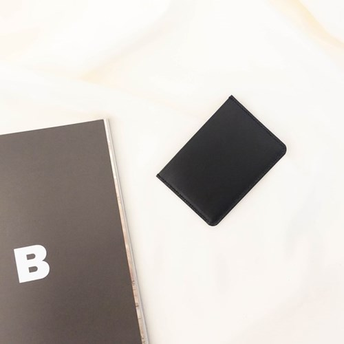 [IDEALMOMENT] 베이직 카드지갑_블랙