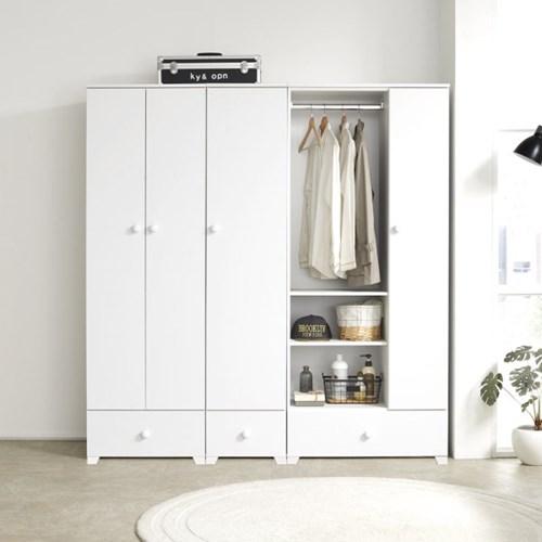 옵티마 파비앙 드레스룸 800 도어형 시스템 옷장_(13725045)