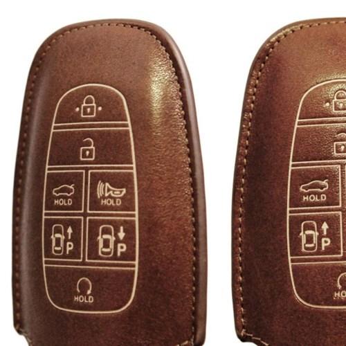 현대 G type 넥쏘 소나타DN8 스마트키 가죽케이스CH1518075