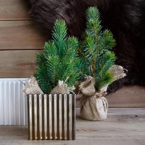 아사셀렉션 데코 테이블 소나무트리 크리스마스 미니트리 소 h25