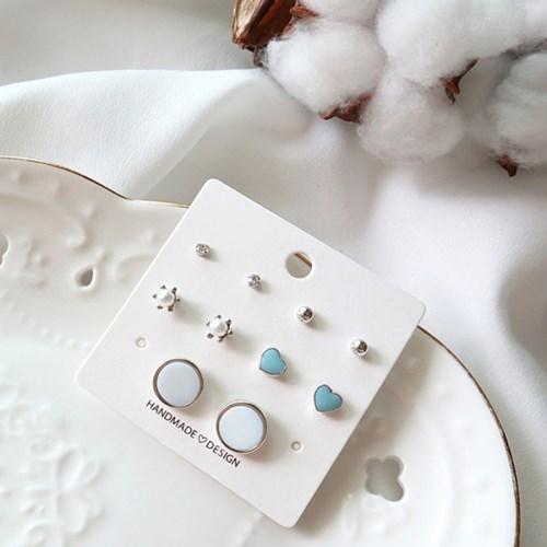 러블리 포인트 귀걸이세트