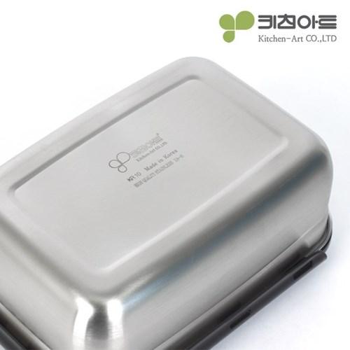 키친아트 멘토 김치통 5호(9.5L) 김장밀폐용기 8종세트