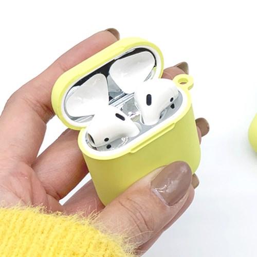 애플 정품 타입 실리콘 에어팟 케이스