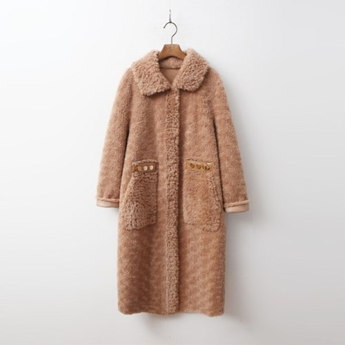 Shearling Mustang Long Coat