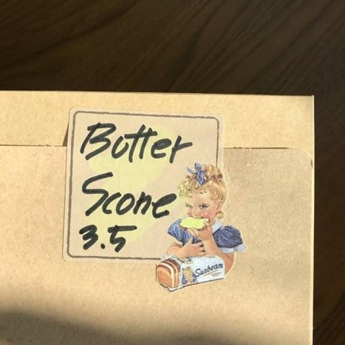 [소행섬] 빈티지 버터 메모 스티커팩