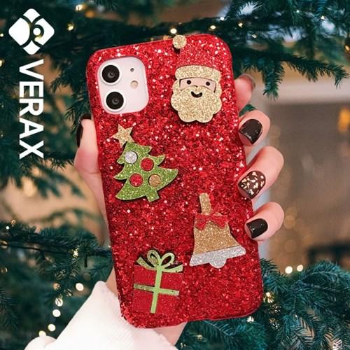 갤럭시 진 크리스마스 샤이닝 커버 하드 케이스 P420_(2217720)
