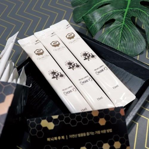 허니파우치 소백산 천연 벌꿀 스틱 4주분 28포 아카시아_(1267245)