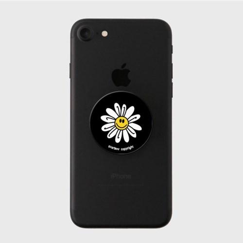 Big flower - Black(스마트톡)