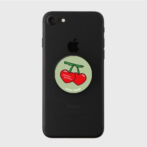 Big cherry - khaki(스마트톡)