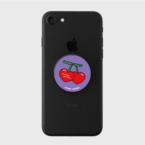 Big cherry - purple(스마트톡)