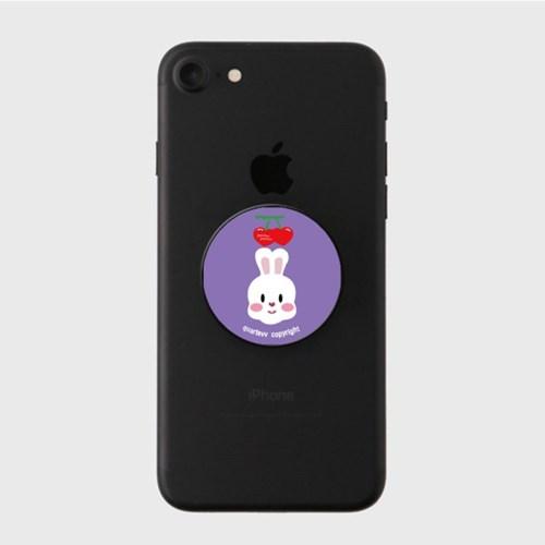 Cherry rabbit - purple(스마트톡)