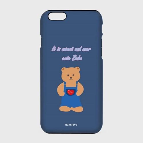 [하드,터프,슬라이드]Dandy bear-navy