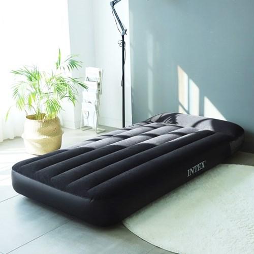 INTEX 인텍스 듀라빔 클래식 에어매트 (광폭싱글) 베개일체형