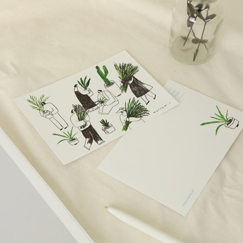 ANF 일러스트 엽서 - 최명미 B