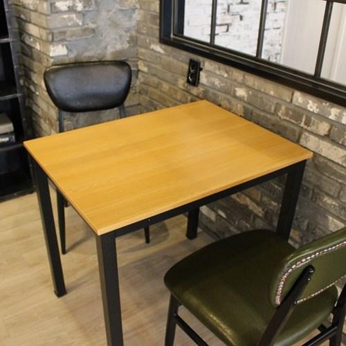 멀바우 빈티지 2인용 800 테이블 소나타의자 세트