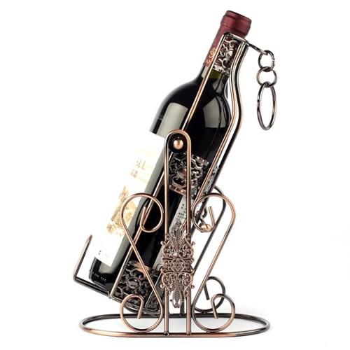 엔틱 각도 조절 와인 거치대/가구점판매용 악세서리