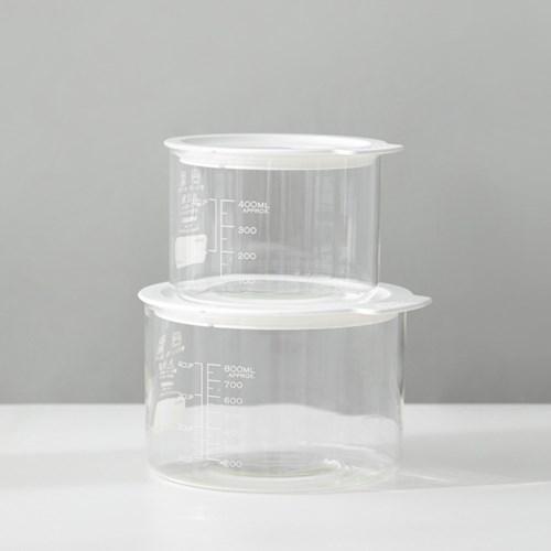 [하리오] VFC-800-W 비네거 푸드컨테이너 (800ml) 화이트
