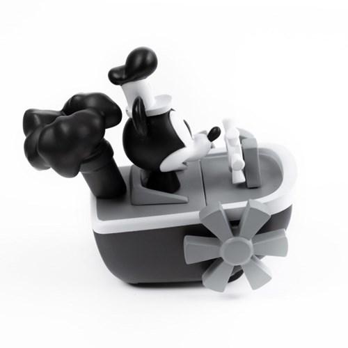 [비스트킹덤] 미키마우스 증기선 윌리 풀백 미니카 90주년 흑백