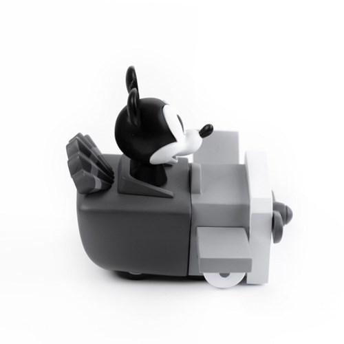 [비스트킹덤] 미키마우스 플레인크레이지 풀백 미니카 90주년 흑백
