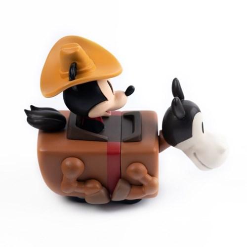[비스트킹덤]미키마우스 카우보이 풀백 미니카 피규어 90주년 컬러